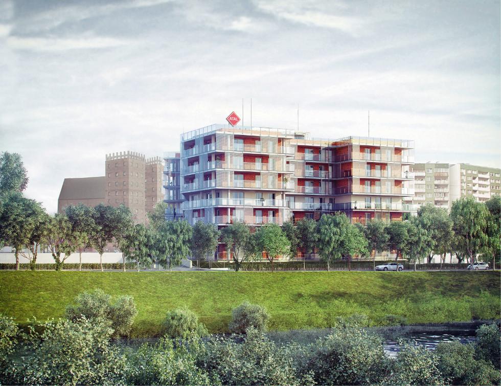 Apartamentowiec nad Odrą