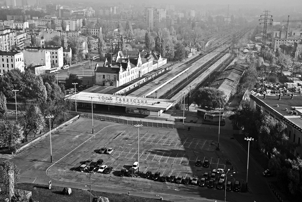 Dworzec Łódź Fabryczna przed przebudową