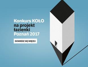 Konkurs KOŁO - zaprojektuj toaletę publiczną w Poznaniu