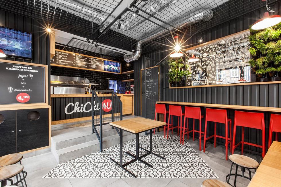 ChiChi 4U - industrialne wnętrze projektu mode:liny