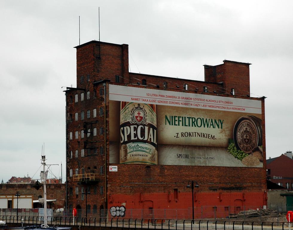 Gdańsk z uchwałą krajobrazową? Bez reklam na budynkach z oknami